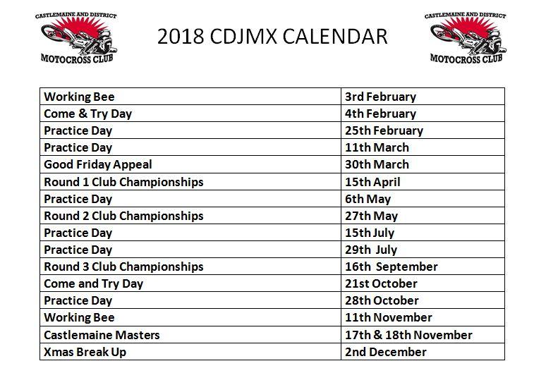 2018 NEW Calendar
